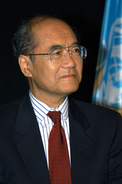 Kochiro Matsuura Director General of UNESCO